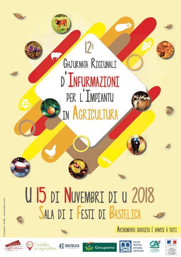 Journée Régionale pour l'installation en agriculture le 15 Novembre 2018 à Bastelica