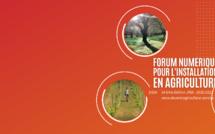 Forum numérique pour l'installation en agriculture